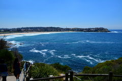 Beach. A beautiful day on one of the Sydney's beach Stock Image