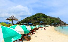 Beach. The beautiful beach Koh-Tao in south of Thailand Stock Photos