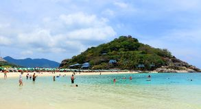 Beach. The beautiful beach Koh-Tao in south of Thailand Royalty Free Stock Images