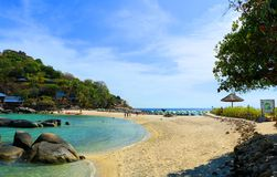 Beach. The beautiful beach Koh-Tao in south of Thailand Stock Image