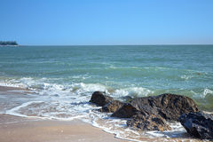Beach. A Beautiful Summer Beach Background.n royalty free stock photography