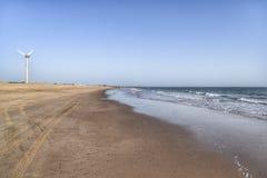 Beach. Beautiful view of a beach Stock Image