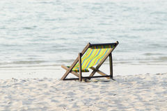Beach bed Stock Image