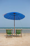 Beach bed Royalty Free Stock Photography