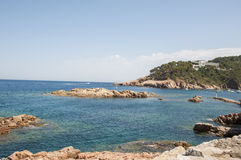 Beach Begur Stock Images