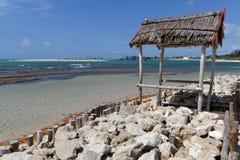 A beach of Belo-sur-Mer, Madagascar Royalty Free Stock Photography