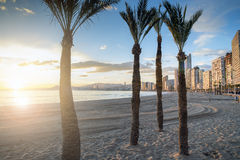 Beach Benidorm. Alicante, Spain , Alicante, Spain Royalty Free Stock Photography