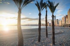 Beach Benidorm Royalty Free Stock Photography
