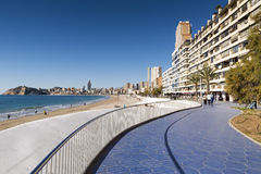 Beach Benidorm Royalty Free Stock Photography