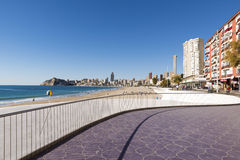 Beach Benidorm Royalty Free Stock Photos