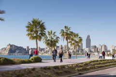 Beach Benidorm Stock Photos