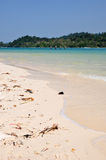 Beach on Beras Basah Island Stock Images