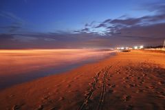 beach bibione στοκ φωτογραφία με δικαίωμα ελεύθερης χρήσης