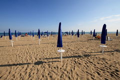 Beach of Bibione Stock Images