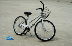 Beach bicycle Royalty Free Stock Photos