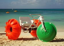 Beach bike Royalty Free Stock Image