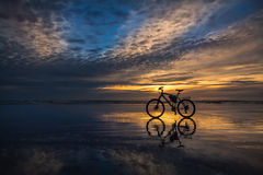 Beach Bike Royalty Free Stock Photography
