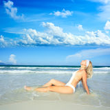 Beach bikini Stock Photo
