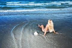 Beach bikini Stock Images