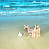 Beach bikini Royalty Free Stock Photography