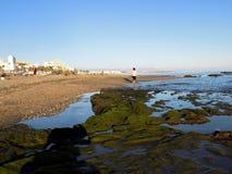 Beach of Bil-Bil-Benalmadena-Malaga-Andalusia Royalty Free Stock Photography