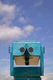 Beach binoculars Royalty Free Stock Photos