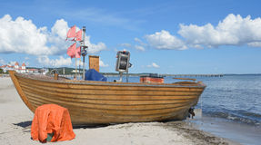 Beach of Binz,Ruegen island,Baltic Sea,Germany Stock Photography