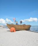 Beach of Binz,Ruegen island,Baltic Sea,Germany Stock Image