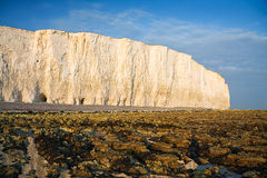 Beach at Birling Gap. Royalty Free Stock Images