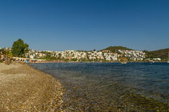 Beach in Bitez, Turkey Stock Photo