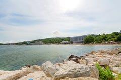Beach on the Black Sea Stock Photo