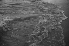Beach, Black-and-white, Motion Stock Images