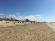 Beach. Bloemendaal Netherlands scenery view royalty free stock photo