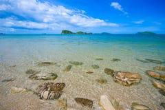 Beach  blue 2 Royalty Free Stock Photo