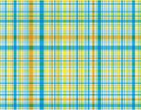 Beach blue plaid Royalty Free Stock Image