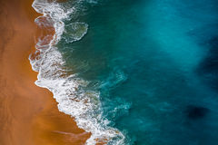 Beach and blue sea Royalty Free Stock Photo