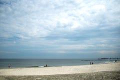 Beach, blue sky, sea and sand. Beach blue sky sea and sand horizon seagulls fish beach sand, waves, wind, vacation, family, romance stock photos