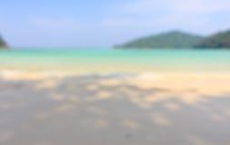 Beach blur background Stock Image