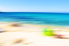 Beach Blur Royalty Free Stock Photos