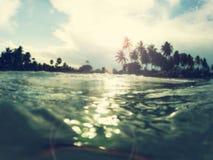 Beach blur Stock Images