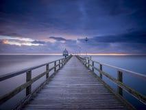 Beach, Boardwalk, Bridge Stock Images