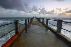 Beach, Boardwalk, Bridge Royalty Free Stock Photo