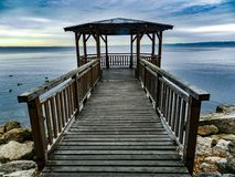 Beach, Boardwalk, Jetty Royalty Free Stock Image
