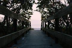 Beach, Boardwalk, Ocean Royalty Free Stock Image