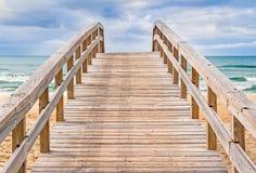 Beach Boardwalk Stock Photos