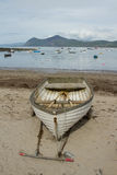 Beach boat. Stock Images