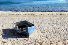 Beach Boat Royalty Free Stock Photography