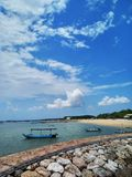 Sanur tourist holiday royalty free stock image