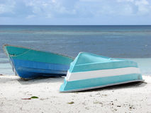Beach and boats Royalty Free Stock Photos