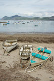 Beach boats. Royalty Free Stock Photo